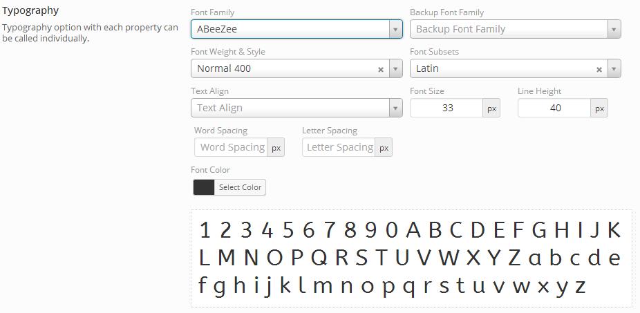 Typography » Redux Documentation